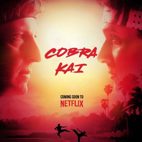 Kick back with Cobra Kai