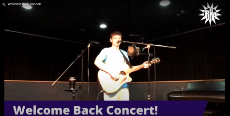 "Sophomore communication major Will Cullen performed Sept. 24 in the Residence Hall Association ""Welcome Back Concert."" The vocalist and guitar player has 115,000 followers on Tik Tok."