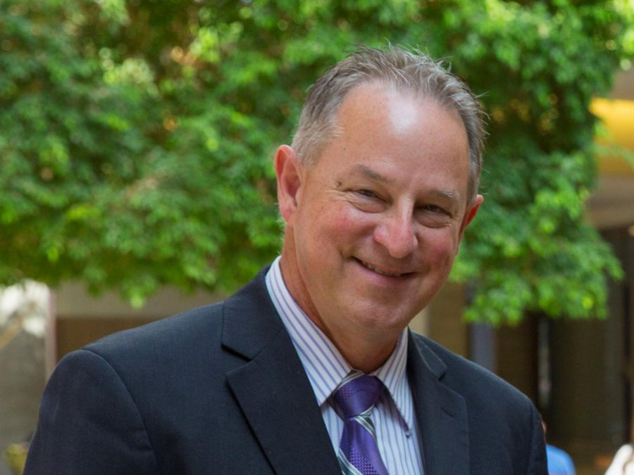 Interim Provost Greg Cook