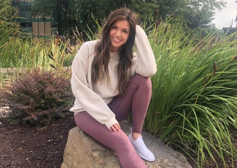 """My favorite memory at UW-W was coming to study and eat lunch by the fountain with friends. We did it every Tuesday and Thursday. It was always so pretty and peaceful to be out there, which made studying a lot less stressful."" -Kara Bennett, UW-Whitewater Alum"