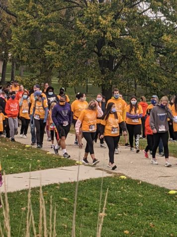 The 10 annual Run for Trey brought over 300 community members together for a 5K fun run Sunday, Oct. 11.