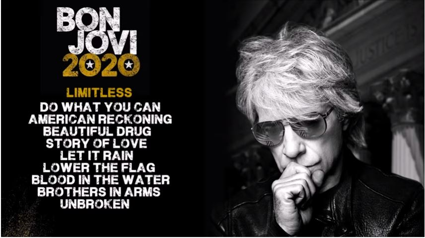 In Bon Jovi's new album, he sings about the pandemic and how it impacted America.