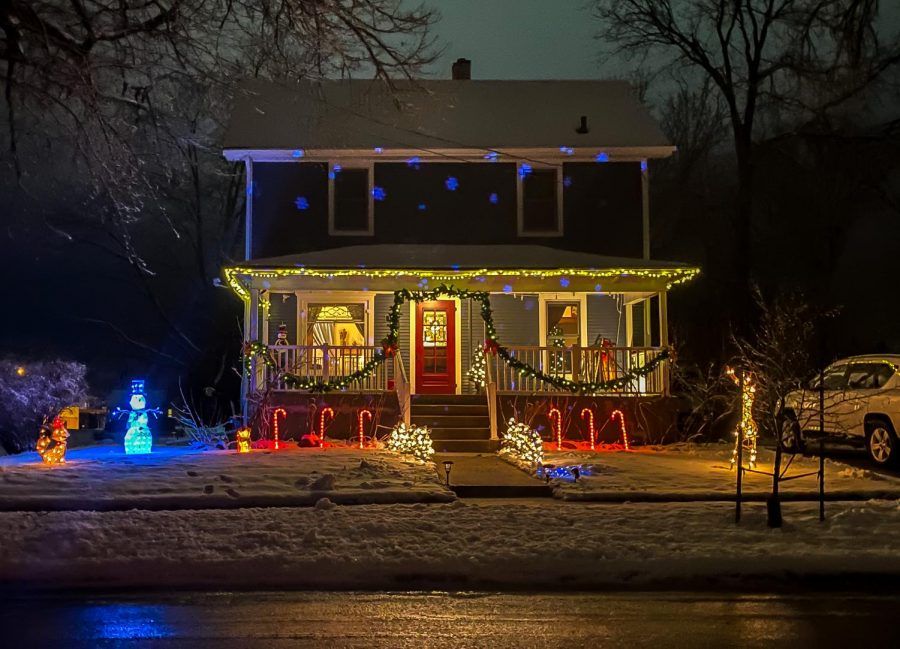 A Jefferson County house celebrates the season by participating in the Deck the House competition that runs through Dec. 20.