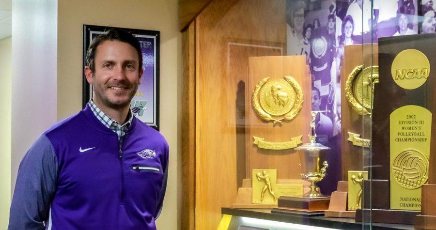 Ryan Callahan is the interim director of intercollegiate athletics at the University of Wisconsin Whitewater.