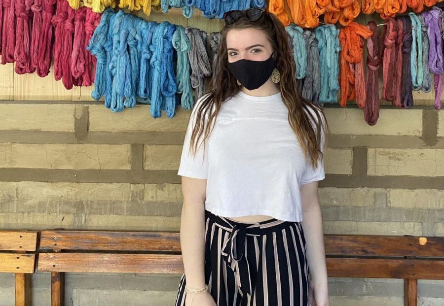 Jacklyn Smith, Senior Class of 2021, from her recent trip to San Juan La Laguna, Solola in Guatemala.