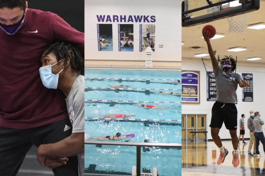 Wisconsin Intercollegiate Athletic Conference (WIAC) winter sports competition will begin the week of Feb. 1 and include the sports of men's and women's basketball, indoor track & field, ice hockey and swimming & diving, as well as wrestling and women's gymnastics.