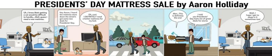 ANIMAL HOUSE: Presidents' Day Mattress Sale