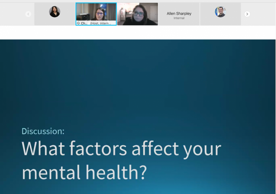 First-gen students focus on mental health