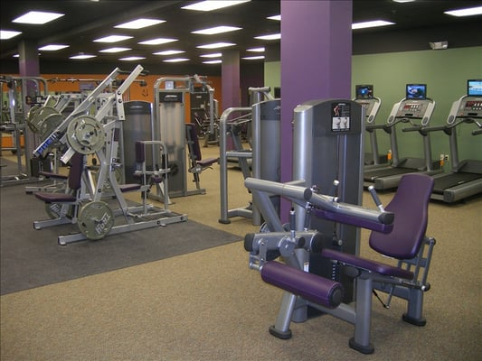Anytime Fitness at 1139 Main St. in Whitewater offers lots of machines and weights for its friendly community of members.