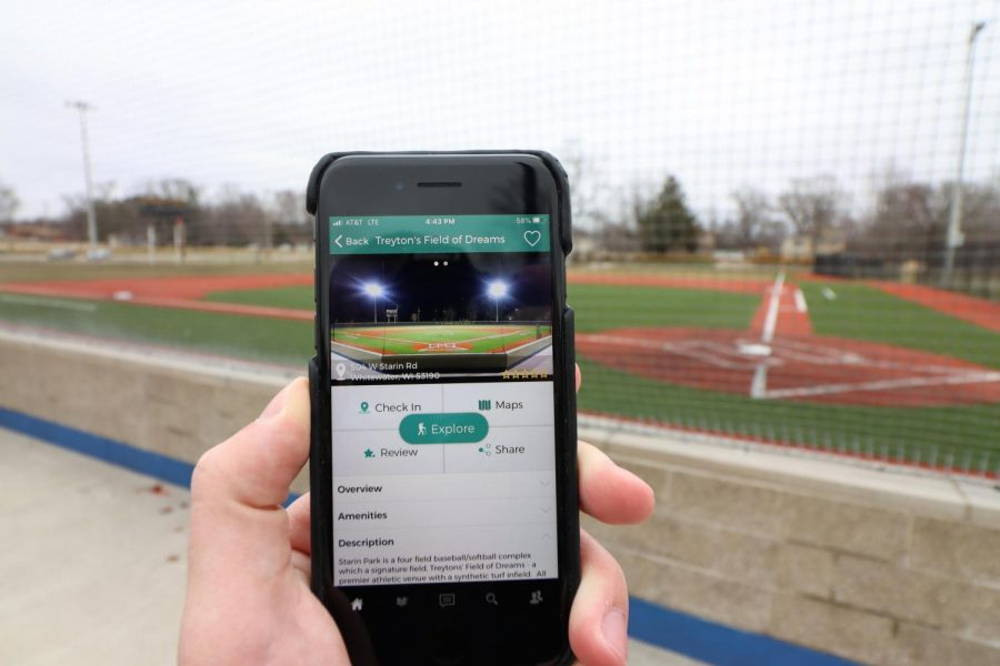Treyton's Field of Dreams in Starin Park is a baseball field featured in the StriveOn App.