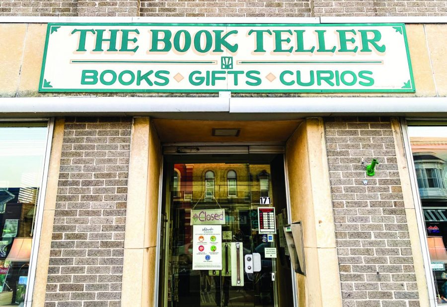 Located at 171 W. Main Street, The Book Teller has hundreds of new and old books to read, as well as some comfy nooks to read in. The store was once an old bank, so there's some interesting history about the building too, just ask the co-owner of the store, Karen Mccullogh.
