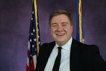 Whitewater Student Government Director of Intergovernmental Affairs Will Hinz