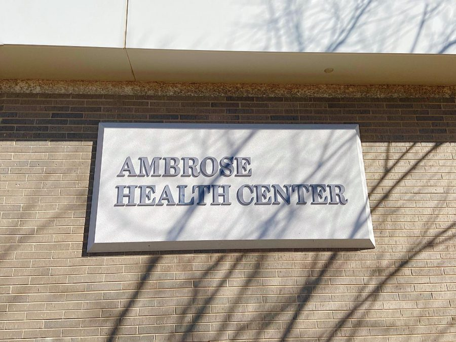 Ambrose Health Center offers many services for all enrolled students to partake in such as addressing any immediate physical or mental concerns, Thursday, April 1.