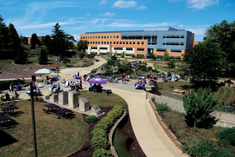 On Sept. 14th and 15th, a wide variety of UW-Whitewater organizations lined the sidewalk from the James R. Connor University Center to Timothy J. Hyland Hall for students to check out during the annual involvement fair.