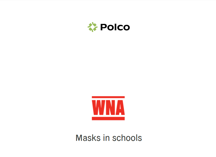 Poll results indicate support for masks in schools