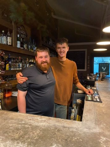 Owner Tyler Salisbery and bartender Andrew Severson love talking about beer.